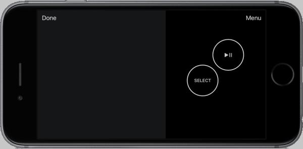 iOS 10 Apple Remote app gaming iPhone screenshot 002 600x295 - Apple vydal redizajnovanú Apple TV Remote aplikáciu