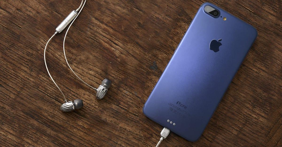 iPhone 7 blue mockup