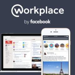 Workplace 240x240 - Facebook spustil novou sociální síť - Workplace