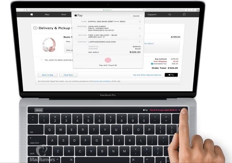 macbook pro touch id.mr  - Analytik očakáva, že budúci iPhone ponúkne USB-C, Touch ID a menší výrez