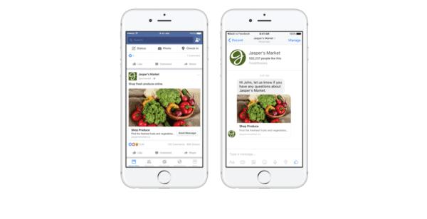 Facebook Messenger 600x308 - Reklamy budou už všude - i v Messengeru