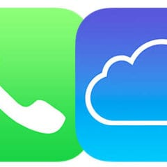 iCloud 240x240 - Apple odesílá záznamy o hovorech do iCloudu