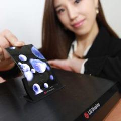 Ohebný LG displej 240x240 - Dočkáme se u budoucích iPhonů ohebných displejů?