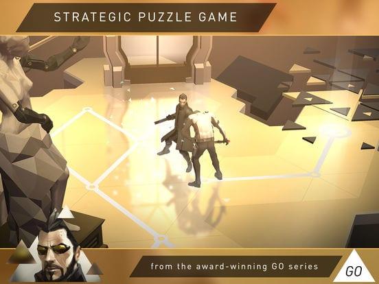 Deus Ex GO - Zlacnené aplikácie pre iPhone/iPad a Mac #26 týždeň