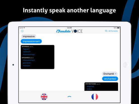 iTranslate Voice - Zlacnené aplikácie pre iPhone/iPad a Mac #08 týždeň