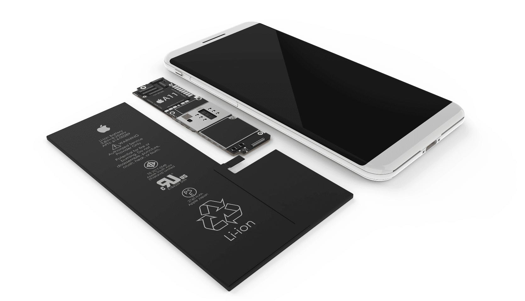MB Baterie zařízení venku - iPhone 8: Jakých se dočkáme komponentů?