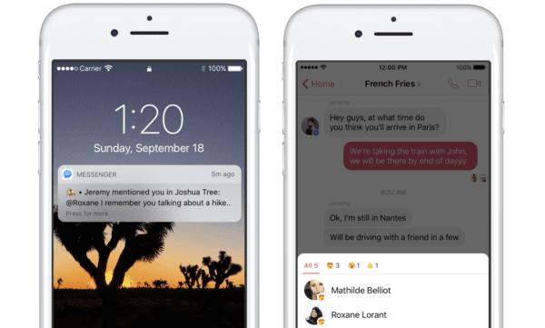 Messenger Zmínky 600x361 - Messenger okopíroval další funkci, tentokrát z iMessage...