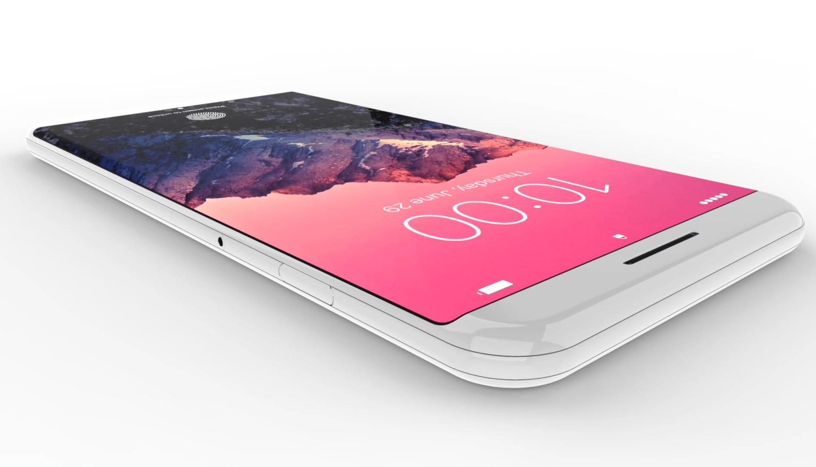 Render 10 - iPhone 8: Co všechno přinese co se týče designu?