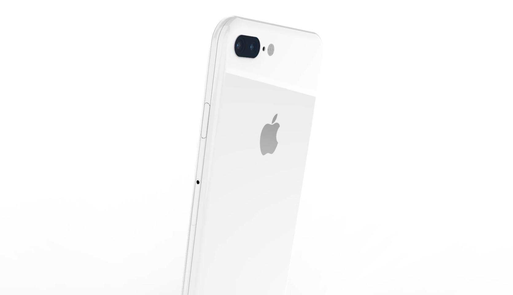 Render 6 - iPhone 8: Co všechno přinese co se týče designu?
