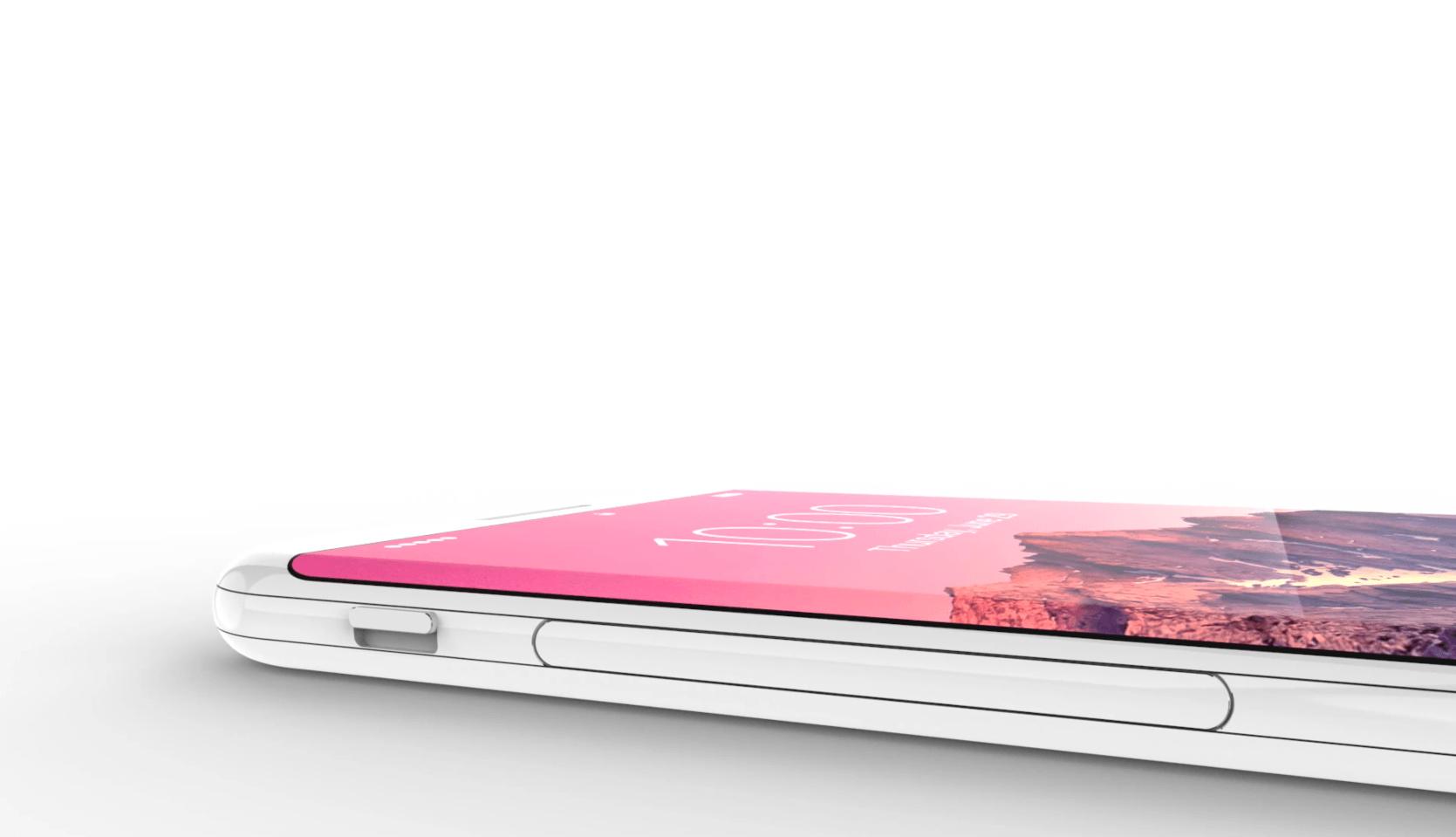 Render 9 - iPhone 8: Co všechno přinese co se týče designu?