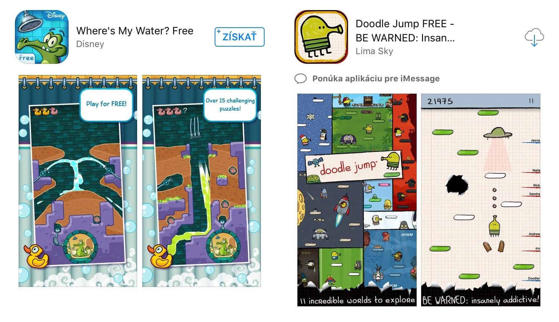 app store free aplikácie