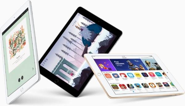 ipad 2017 apps 600x344 - Apple budúci rok údajne plánuje ešte lacnejší iPad