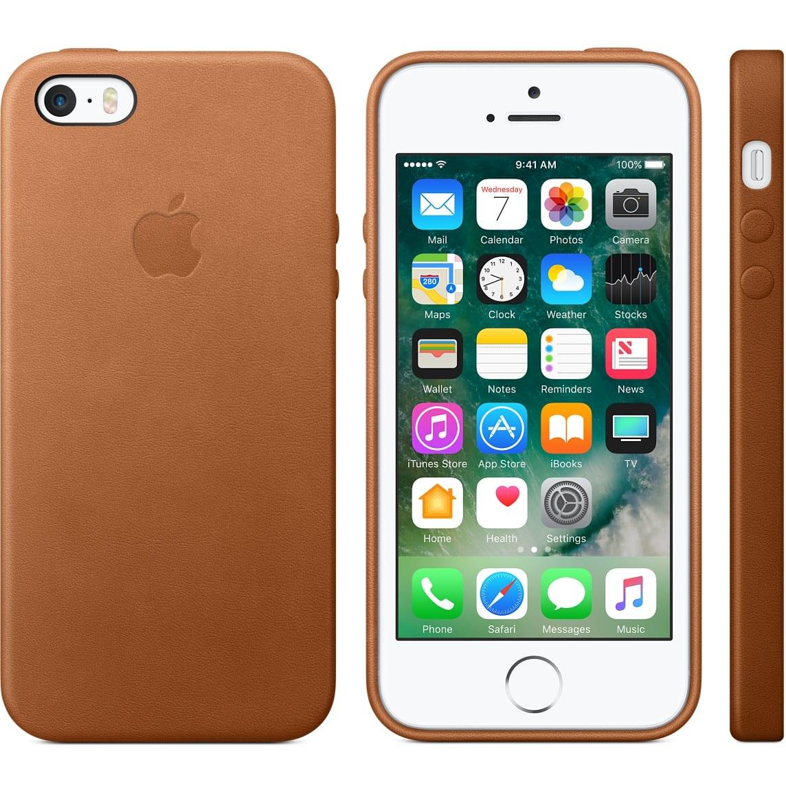 iphone se saddle brown