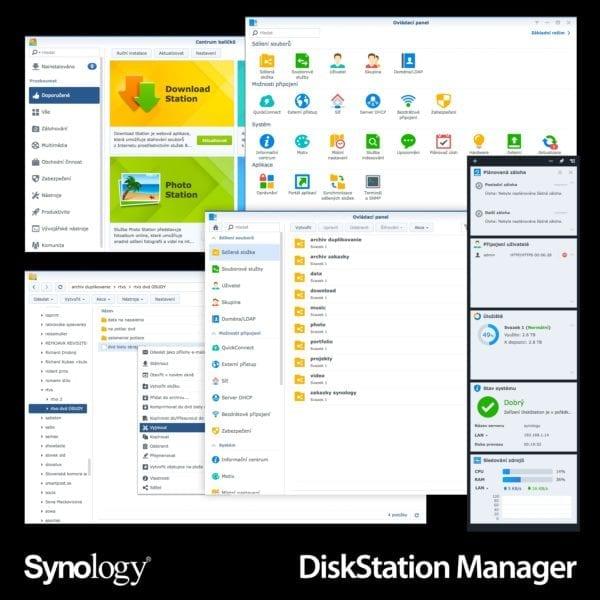 synology disk station manager tit 600x600 - Synology DiskStation Manager: Systém, ktorý dodáva NAS identitu