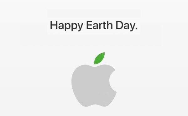 apple earth day 600x372 - Některé kamenné prodejny Apple se rozzelenaly v rámci oslav Dne Země