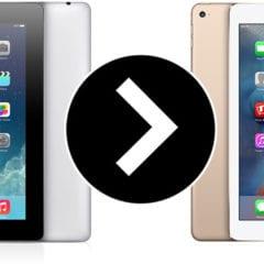 iPad 4 iPad Air 2 240x240 - Reklamujete-li iPad 4. generace, můžete dostat zpátky iPad Air 2