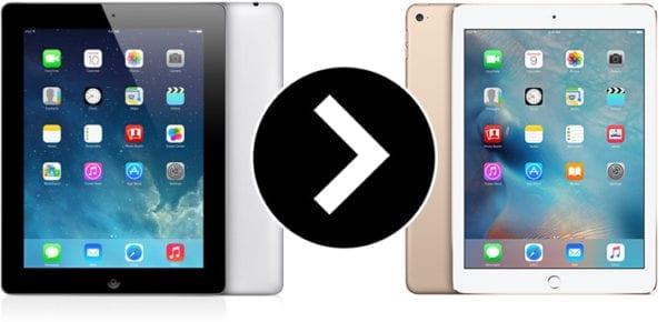 iPad 4 iPad Air 2 600x290 - Reklamujete-li iPad 4. generace, můžete dostat zpátky iPad Air 2