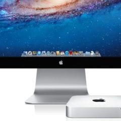 mac mini and thunderbolt display 240x240 - Tipy a triky pre Mac – 2. časť