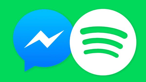 messenger spotify 600x338 - Facebook Messenger pridá integráciu so Spotify a Apple Music