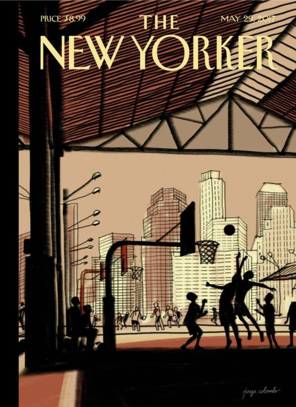TheNewYorker CoverStory Colombo Basketball 872x1200 1495121111 600x826 - Titulka najnovšieho čísla The New Yorker bola nakreslená na iPade Pro