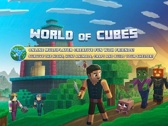 World of Cubes Survival Craft Multiplayer ios - Zlacnené aplikácie pre iPhone/iPad a Mac #18 týždeň