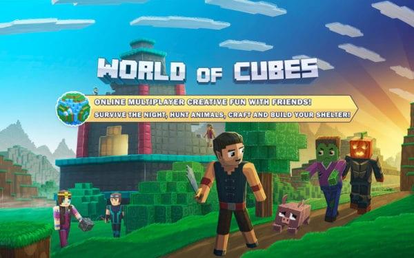 World of Cubes Survival Games Multiplayer 600x375 - Zlacnené aplikácie pre iPhone/iPad a Mac #18 týždeň
