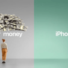 Your Money iPhone Parody Ad