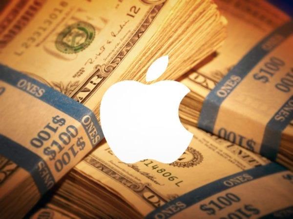apple money white logo 600x450 - Apple za uplynulý štvrťrok zažil najvyššie zisky vo svojej histórii