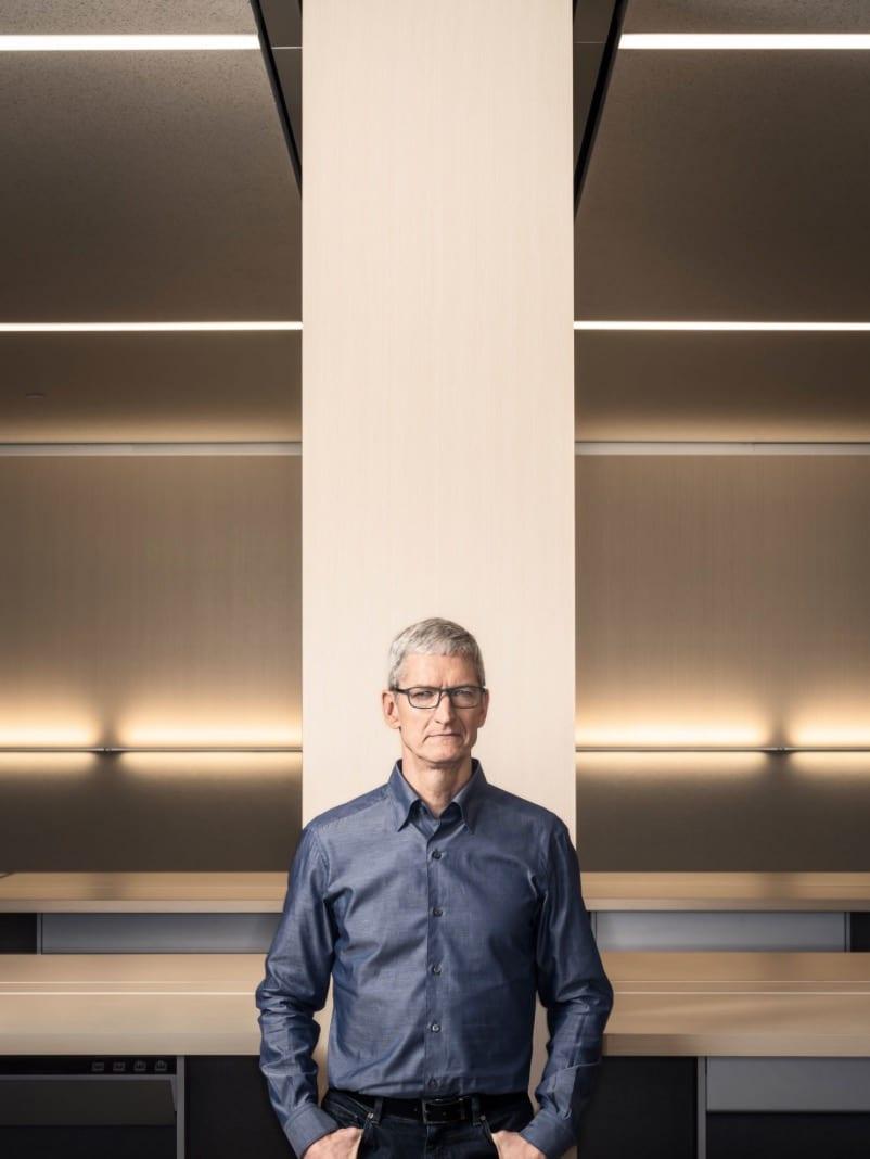 apple park tim cook - Apple Park bude už čoskoro dokončený, pozrite sa do zákulisia jeho vzniku