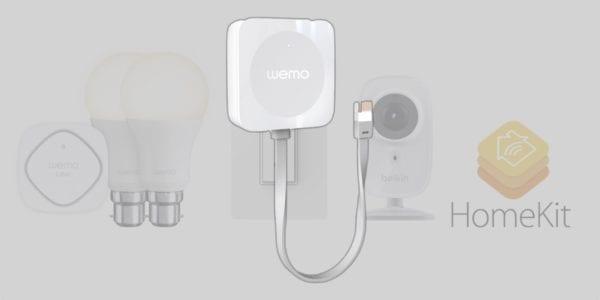 belkin wemo homekit 600x300 - Belkin začne v řadě Wemo podporovat HomeKit