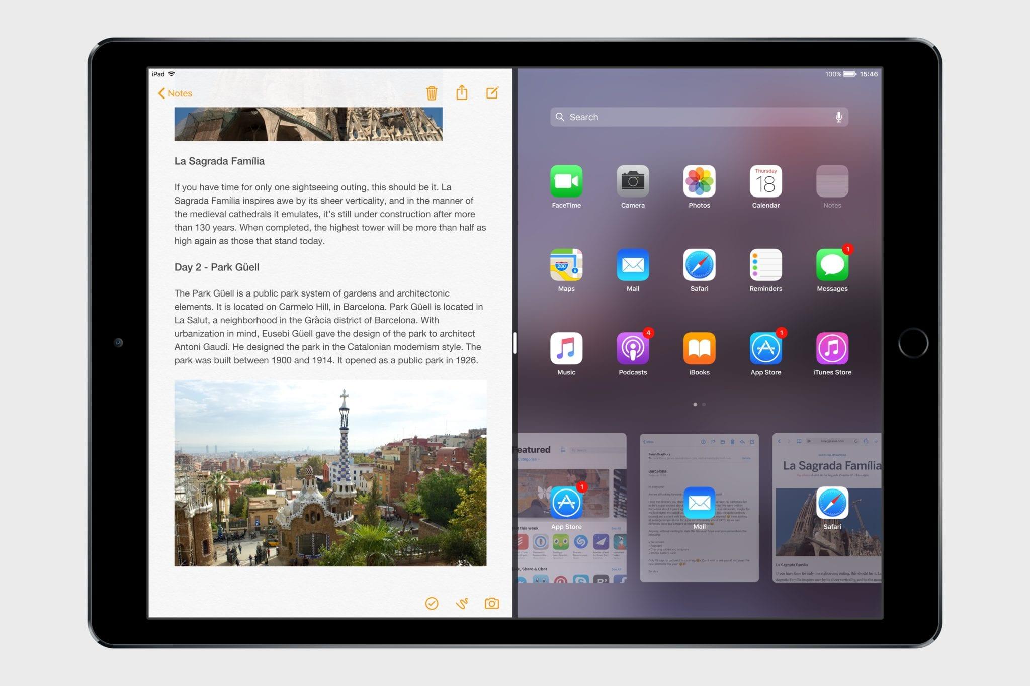 ios 11 concept macstories3 - Koncept: iOS 11 s Drag and Drop a novými funkciami pre iPad