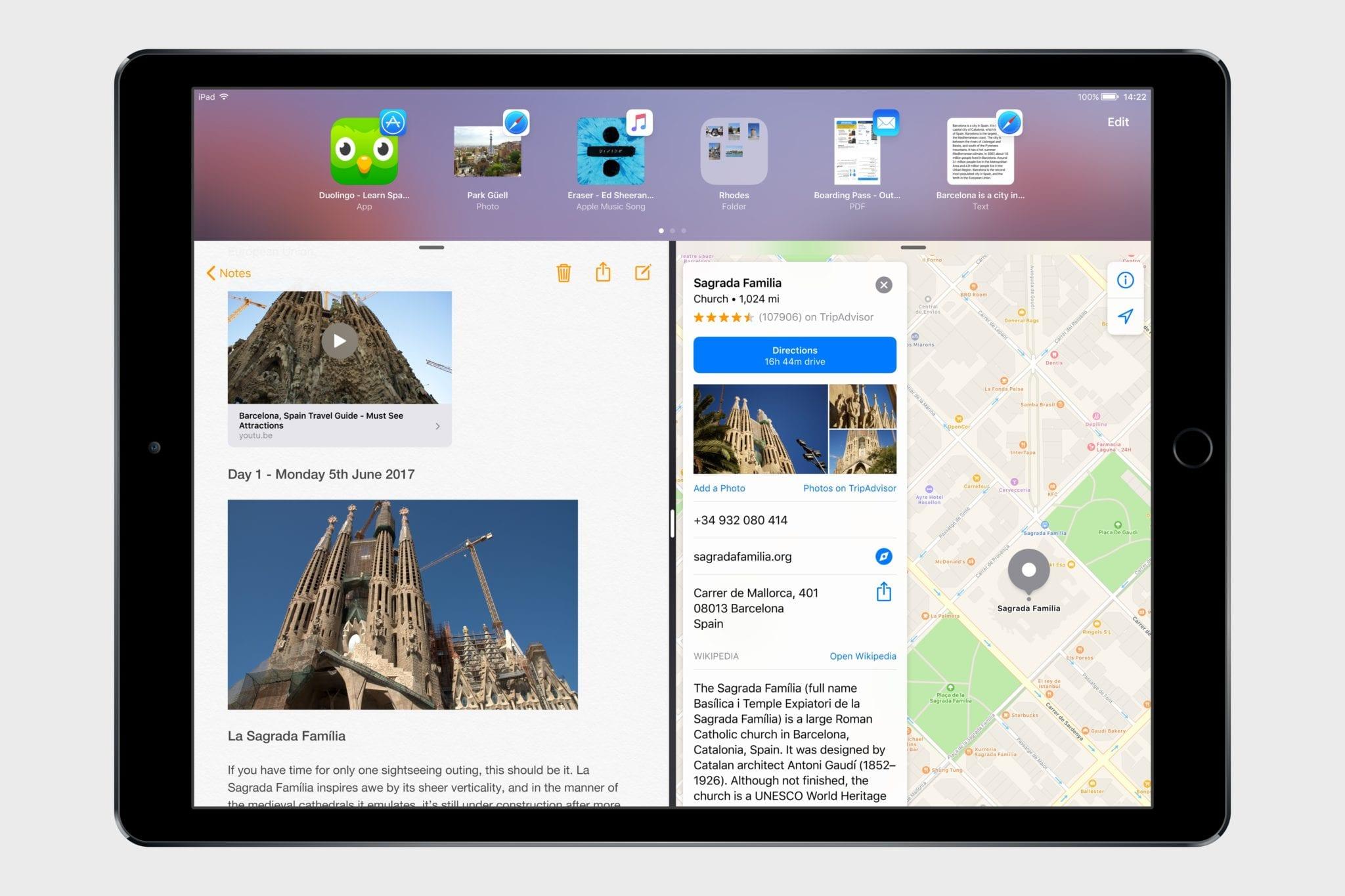 ios 11 concept macstories4 - Koncept: iOS 11 s Drag and Drop a novými funkciami pre iPad