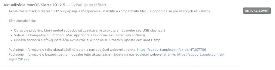 macOS 10.12.5 Sierra