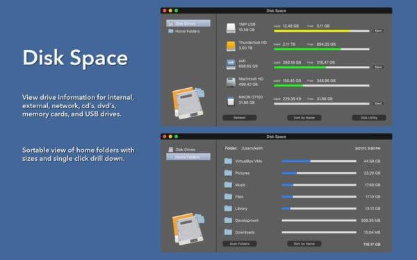 Disk Space 600x375 - Zlacnené aplikácie pre iPhone/iPad a Mac #24 týždeň