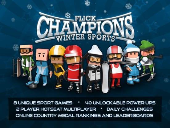 Flick Champions Winter Sports - Zlacnené aplikácie pre iPhone/iPad a Mac #24 týždeň