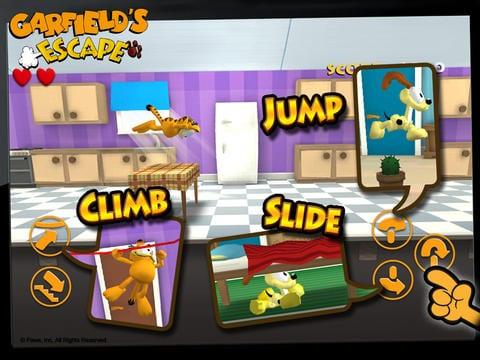 Garfields Escape - Zlacnené aplikácie pre iPhone/iPad a Mac #24 týždeň