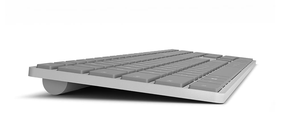 Microsoft Modern Keyboard - Microsoft predstavil bezdrôtovú klávesnicu s vlastnou obdobou Touch ID