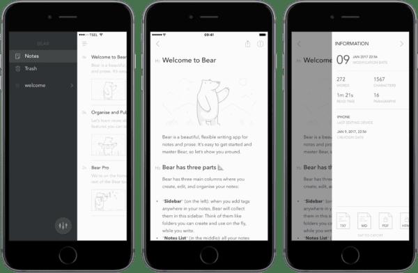 bear 600x392 - Byly vyhlášeny ceny Apple Design Awards 2017, jaké aplikace se mohou pyšnit tímto titulem?