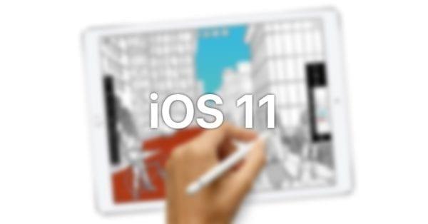 iOS 11 600x314 - WWDC 2017: Apple prekopal iOS 11 pre iPad Pro