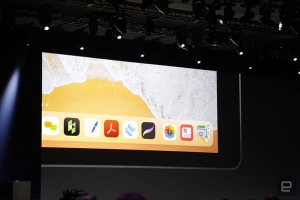 iOS 11 New Dock iPad
