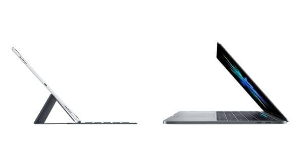 """iPad Pro vs MacBook Pro Benchmark 600x334 - iPad Pro v benchmarkoch prekonáva najvýkonnejší 13"""" MacBook Pro"""