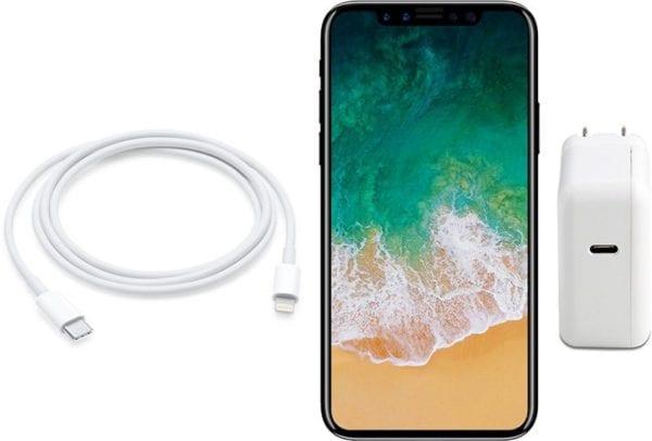 iPhone 8 nabíjení USB C 600x406 - iPhone 8 přijde o 4 týdny později, tvrdí analytici