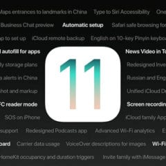 iOS 11 funkcie