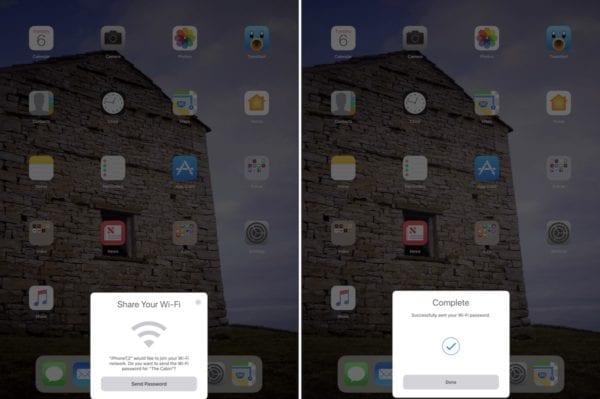 ios 11 ipad wifi 2 600x399 - V iOS 11 je sdílení hesla k Wi-Fi s práteli jednodužší než kdy dříve