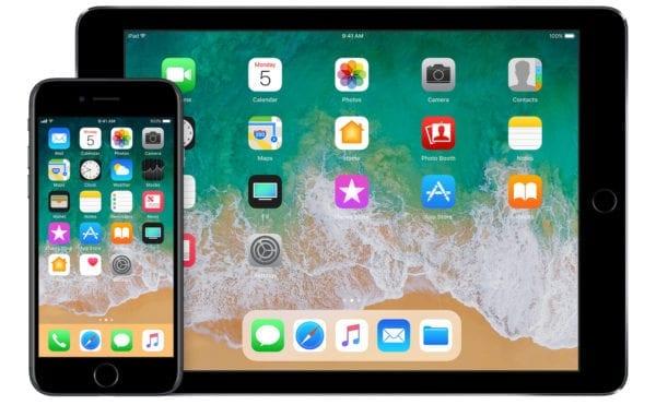 ios 11 iphone ipad devices home 600x371 - Apple vydal iOS 11.2.2 a macOS 10.13.2 s opravami pre zraniteľnosť Spectre