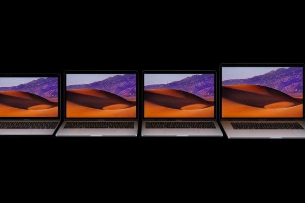 macbook macbook pro wwdc17 600x400 - Apple aktualizoval všetky MacBooky, ponúkajú Kaby Lake a rýchlejšie vnútornosti
