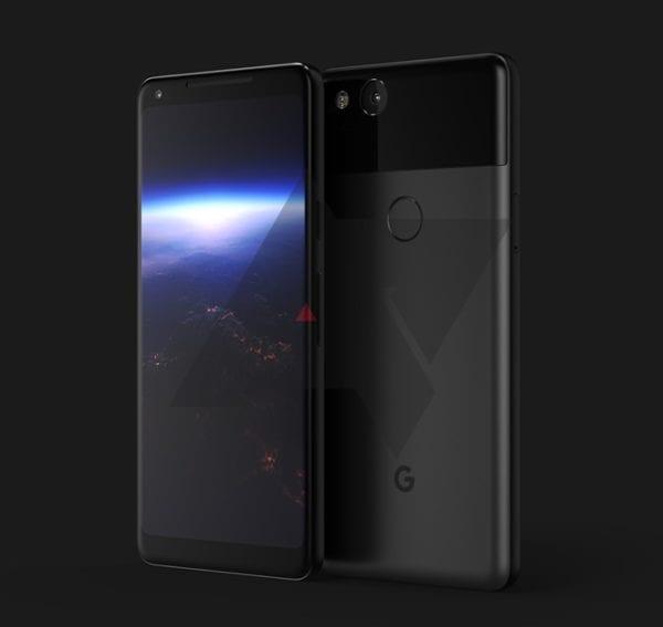 """Google Pixel render 600x567 - Druhá generace zařízení Google Pixel by mohla mít """"mačkatelné"""" tělo podobné tomu z HTC U11"""
