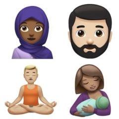 Nové emotikony iOS 11 240x240 - Apple oslavil světový den emotikon ukázáním nových emoji, které budou v letošním iOS, watchOS a macOS