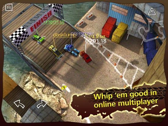 Reckless Racing - Zlacnené aplikácie pre iPhone/iPad a Mac #29 týždeň