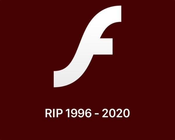 adobe flash logo rip 600x480 - Flash je mŕtvy, Adobe oficiálne ukončí jeho podporu v roku 2020